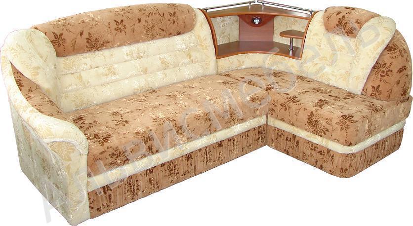 угловой диван кровать орфей 2 с баром мягкая мебель диваны